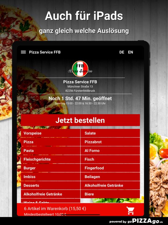 Pizza Service FFB Fürstenfeldb screenshot 7