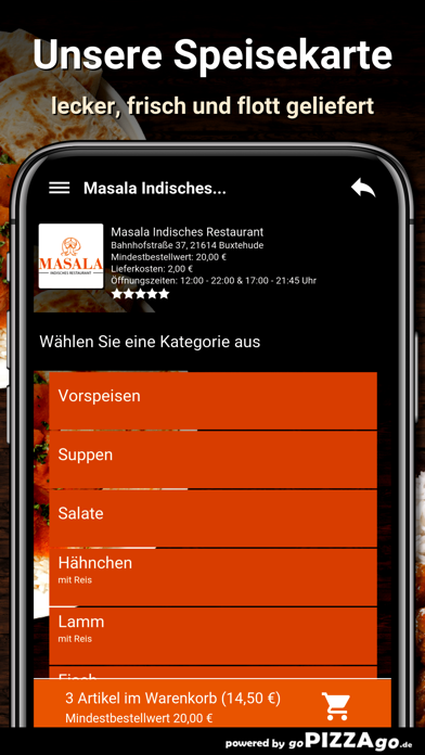 Masala Buxtehude screenshot 4