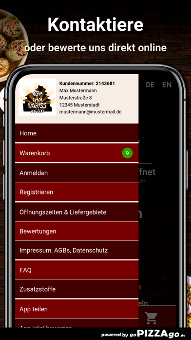 Asia Thai Imbiss Frankfurt am screenshot 3