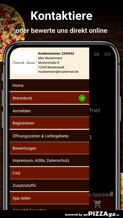Osteria da Antonio München screenshot 3