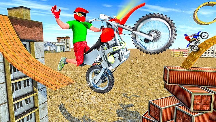 Bike Stunt Racing Games 2021 screenshot-3