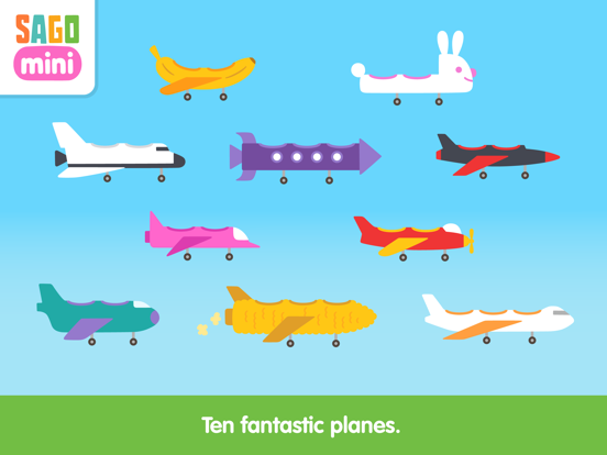 Sago Mini Planes Adventure screenshot 8