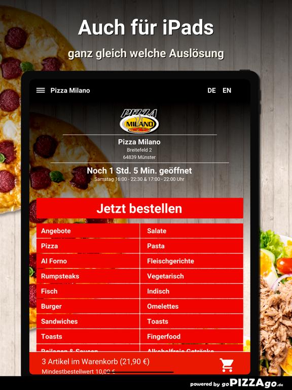 Pizza Milano Münster screenshot 7