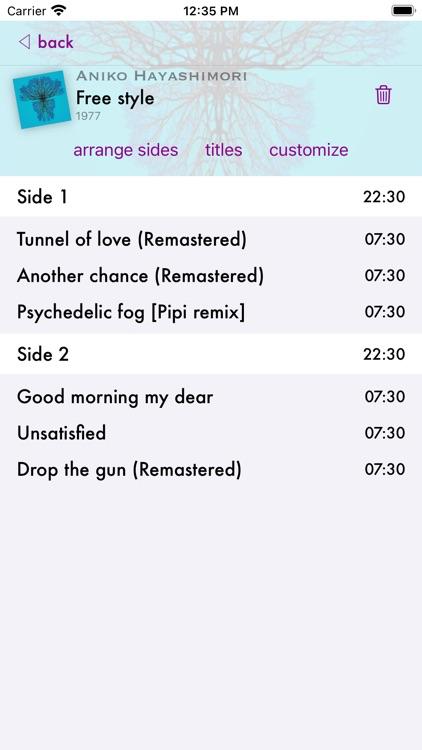 Vinyl Fetish - music player