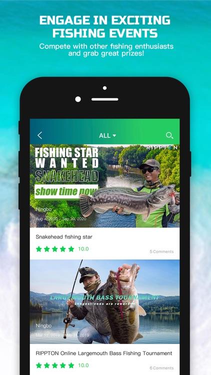 Rippton – Social Fishing App screenshot-4
