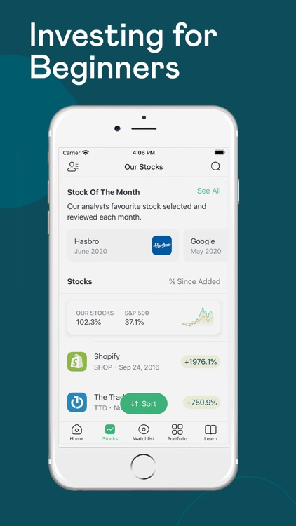 MyWallSt: Stock Investing screenshot-0