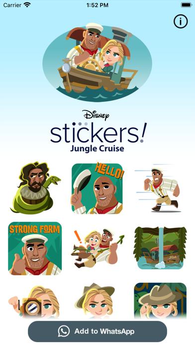 Jungle Cruise Stickers screenshot 1