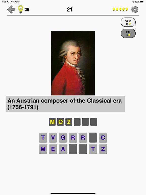 Famous People - History Quiz screenshot