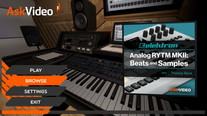 Screenshot of Beats Course for RYTM MKII App