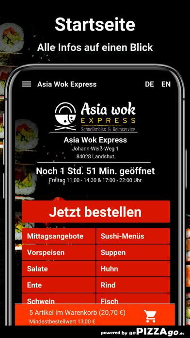 Asia Wok Express Landshut screenshot 2
