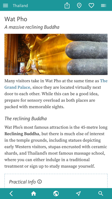 Thailand's Best: Travel Guide screenshot 2