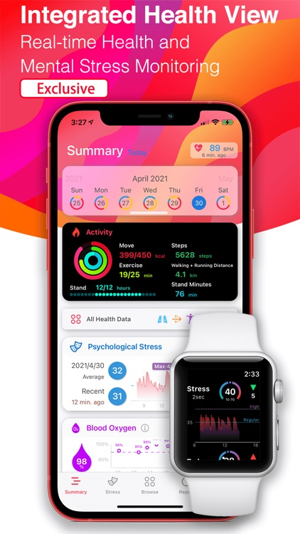 Heart Rate & Stress Monitor