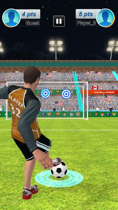 本物のサッカーサッカーストライカー紹介画像2