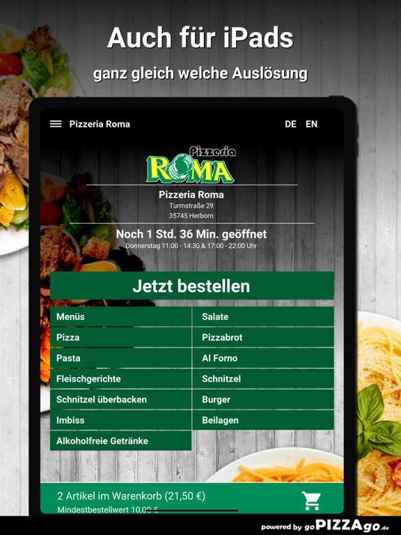 Pizzeria Roma Herborn screenshot 7