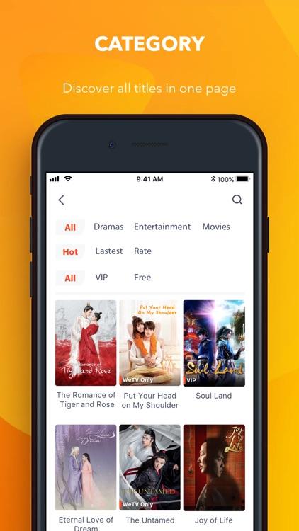 WeTV - Best Asian Contents screenshot-3