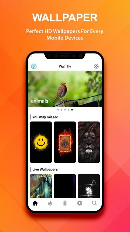 Live wallpapers - Walli fly screenshot-5