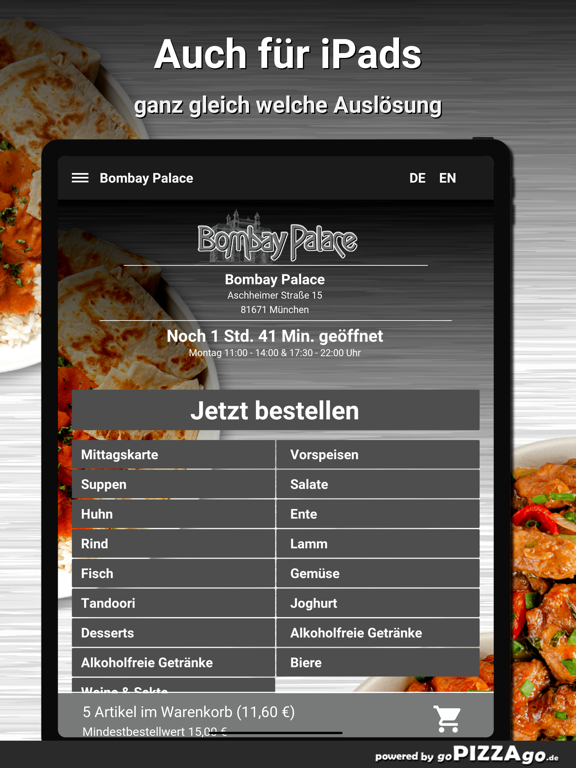 Bombay Palace München screenshot 7