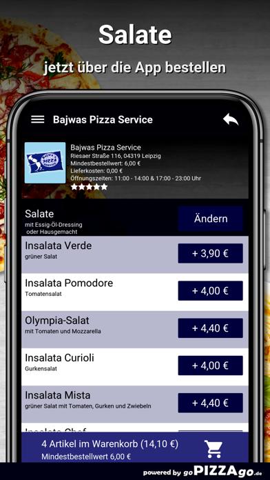 Bajwas Pizza Service Leipzig screenshot 5