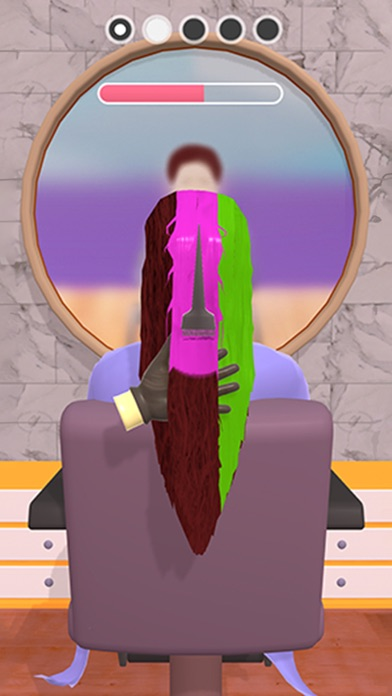 Teinture pour cheveux!
