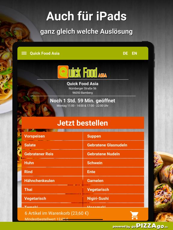 Quick Food Asia Bamberg screenshot 7