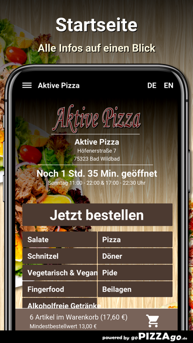 Aktive Pizza Bad Wildbad screenshot 2
