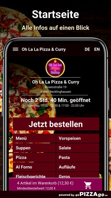 Oh La La Pizza Recklinghausen screenshot 2
