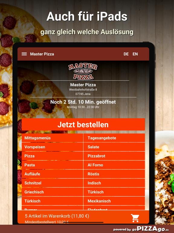 Master Pizza Jena screenshot 7