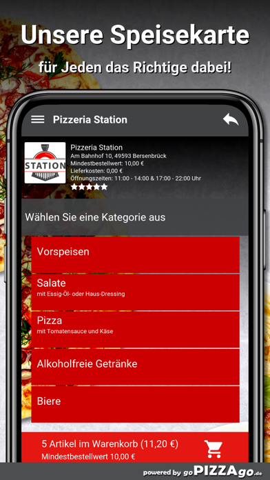 Pizzeria Station Bersenbrück screenshot 4