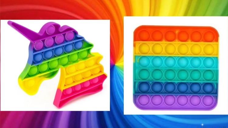 Bubble Pop It Fidget Toys 3D