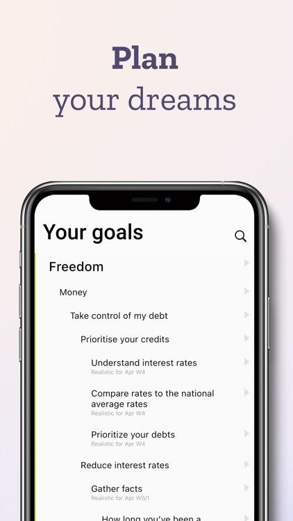 Ubjective – habits and goals screenshot-3