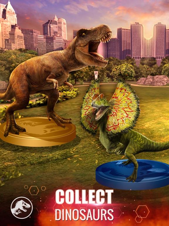 Jurassic World Alive iPad app afbeelding 1
