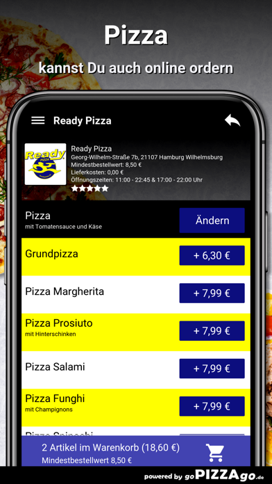 Ready Pizza Hamburg screenshot 5