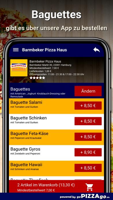 Barmbeker Pizza Haus Hamburg screenshot 6