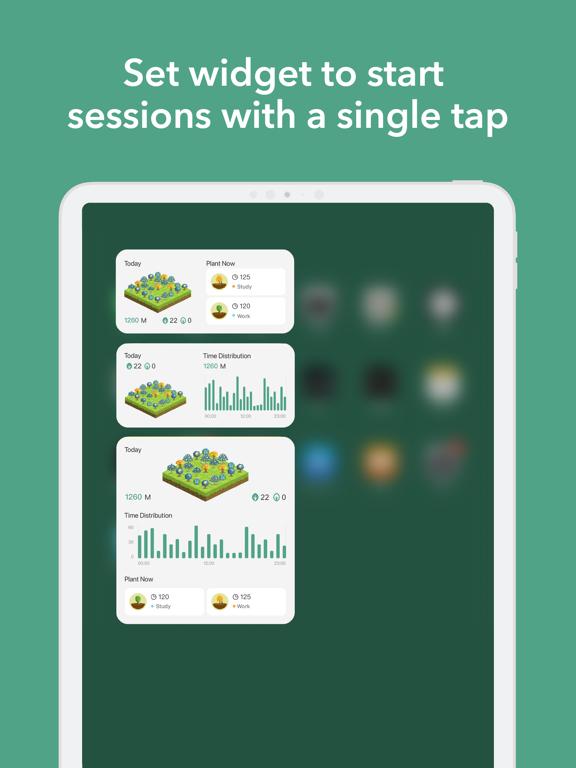 Forest - Your Focus Motivation iPad app afbeelding 9
