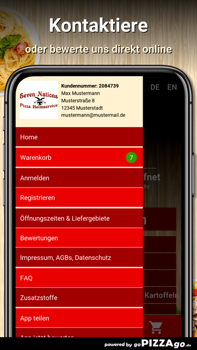7 Nations München Obergiesing screenshot 5