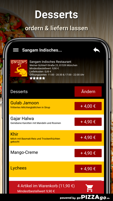 Sangam München screenshot 6