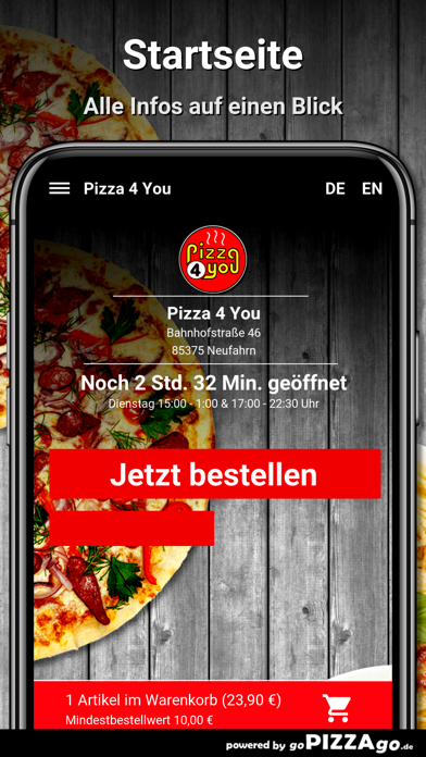 Pizza 4 You Neufahrn screenshot 2