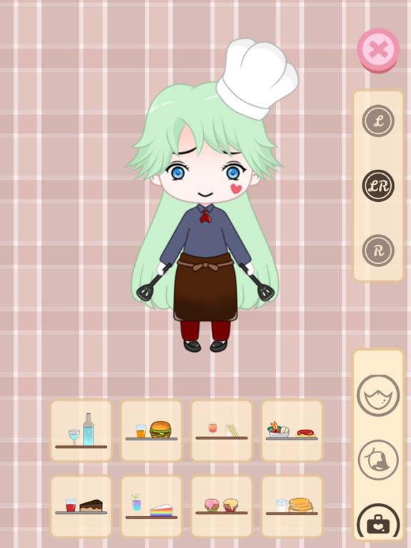 Cafegal - Dress up mini cafe screenshot 10