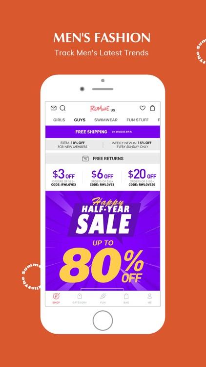 ROMWE -Online Fashion Store screenshot-5