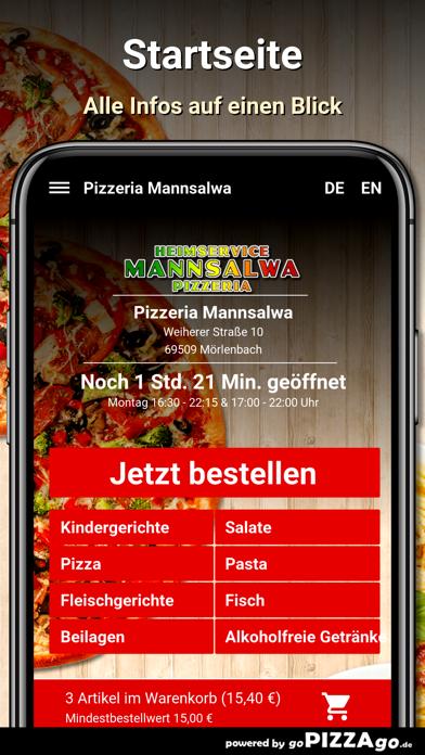 Pizzeria Mannsalwa Mörlenbach screenshot 2