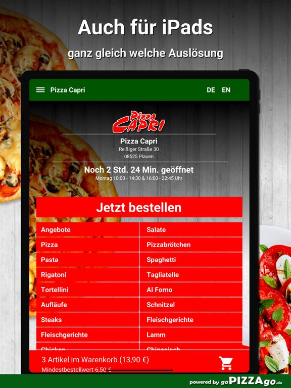 Pizza Capri Plauen screenshot 7
