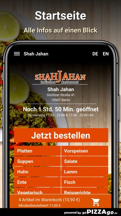 Shah Jahan Berlin screenshot 2