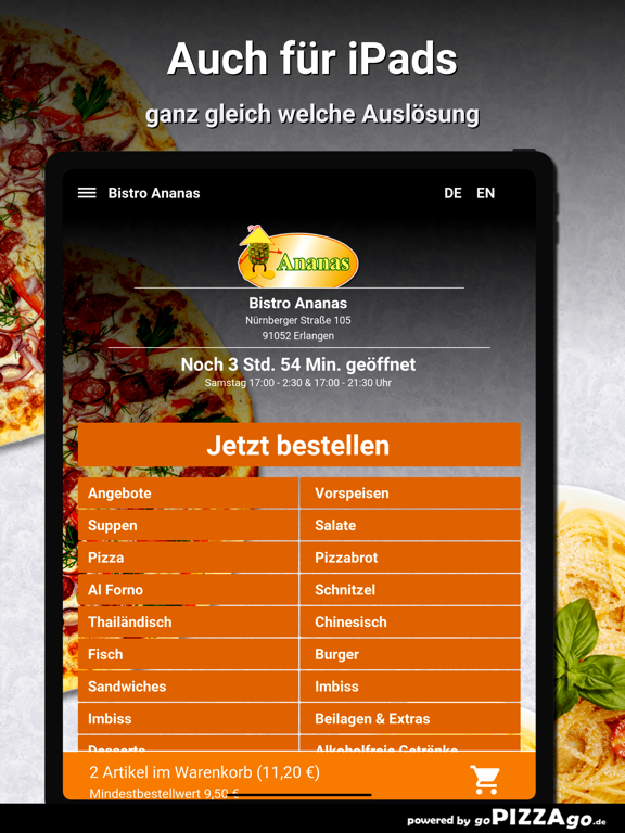Bistro Ananas Erlangen screenshot 7