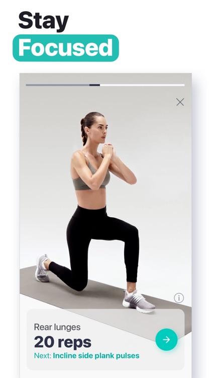 HitFit - At Home Workouts screenshot-4