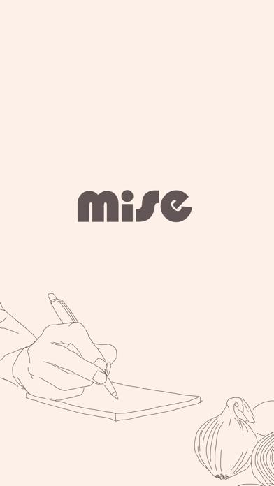 Screen Shot Mise: A minimalist recipe box 0