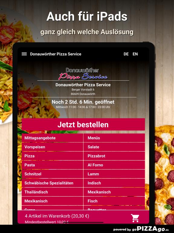 Donauwörther Pizza Donauwörth screenshot 7
