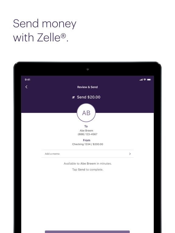 iPad Image of Truist Mobile