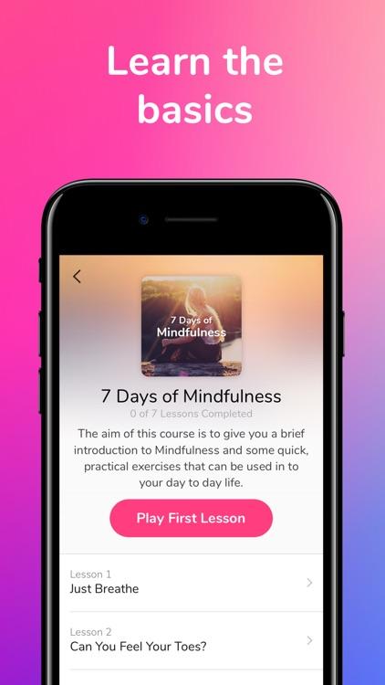 3 Minute Mindfulness screenshot-5