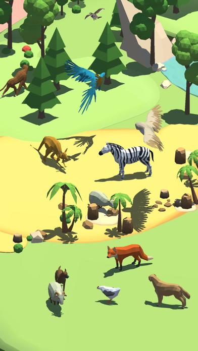 アニマルクラフト3Dのおすすめ画像1