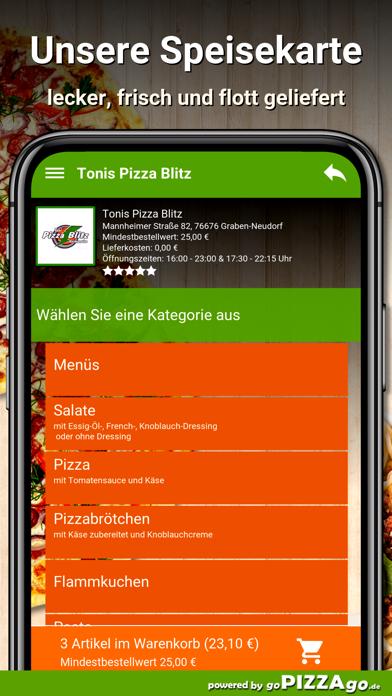 Pizza Blitz Graben-Neudorf screenshot 4